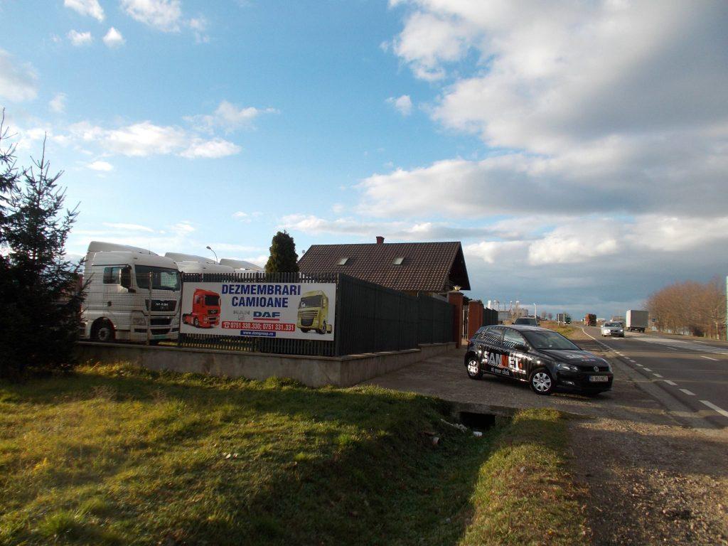 DZM GROUP Suceava livrează piese camioane DAF și MAN din dezmembrări