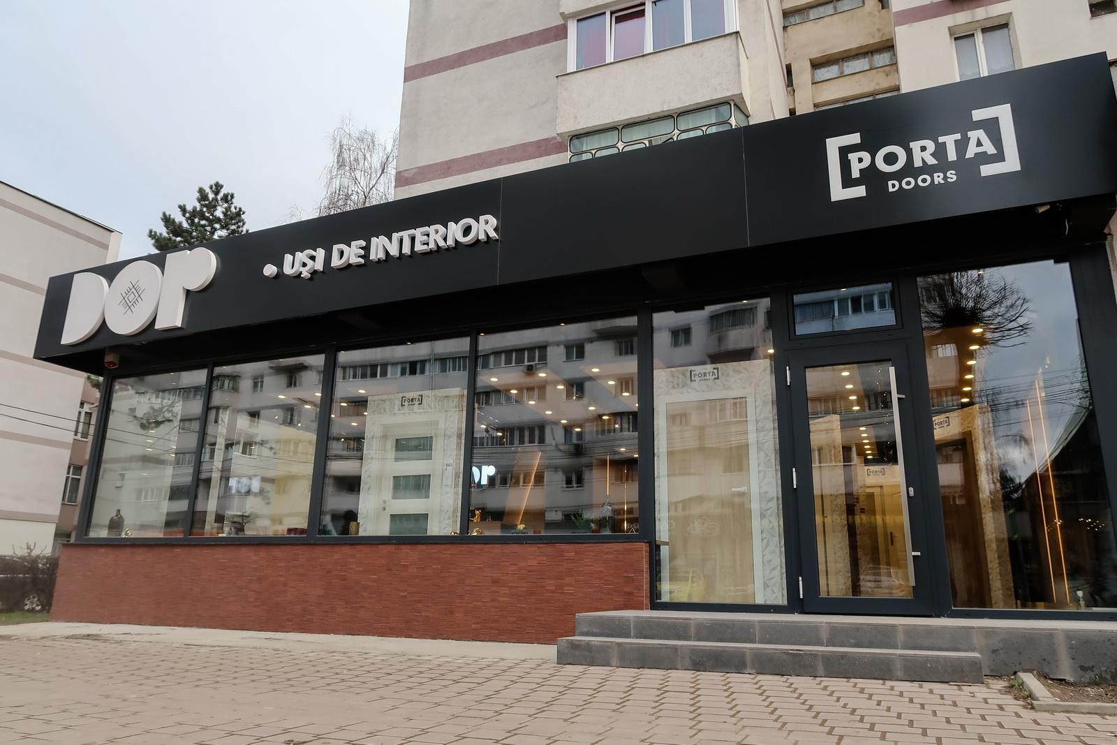 showroom DOR usi de interior Suceava
